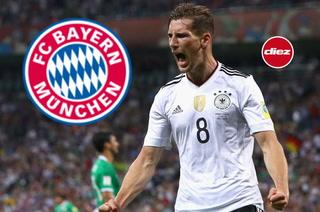 ¡Golpe al Barça! Bayern Munich ficha al alemán Leon Goretzka