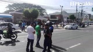Tegucigalpa: Obstaculizado el paso a la salida al sur de Honduras
