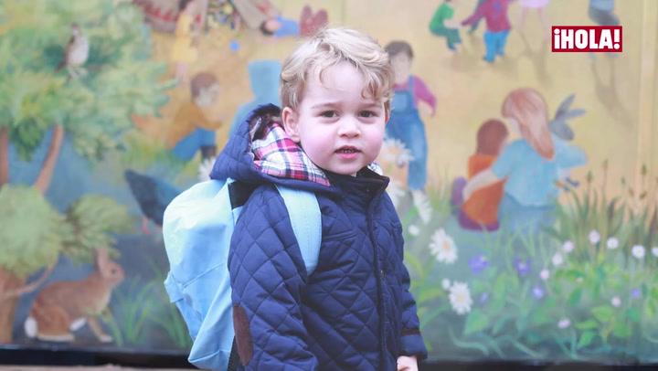 El príncipe George, el \'mini-yo\' del príncipe Guillermo, cumple tres años