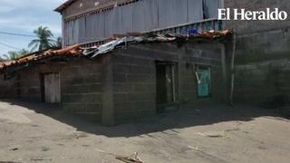 Alto oleaje inunda varios hogares en la zona sur de Honduras