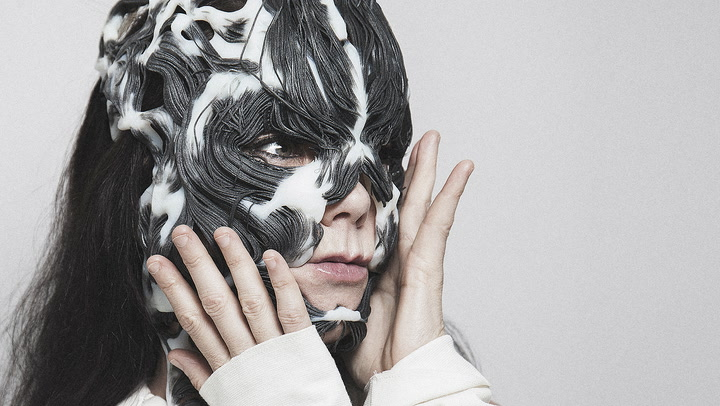 The Making Of Björk's Futuristic Death Mask