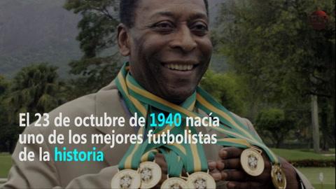 Un día como hoy nació el rey del fútbol Pelé