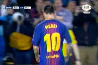 ¡GOOL DEL BARCELONA! Messi anota el 2-0 ante el Olympicos