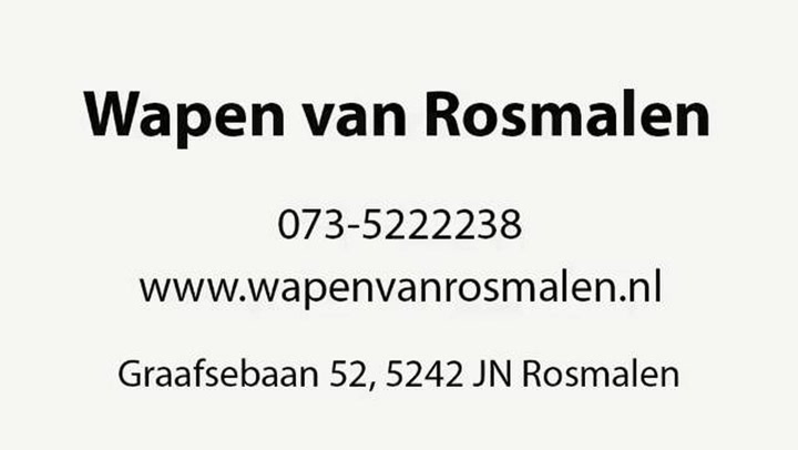 Wapen Van Rosmalen - Video tour
