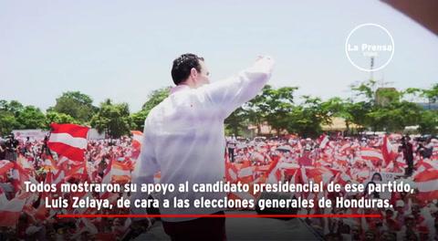 Luis Zelaya arranca campaña en San Pedro Sula