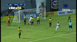 ¡GOOOL DEL H. PROGRESO! Yerson Gutiérrez anota para descontar 1-3 ante Real España