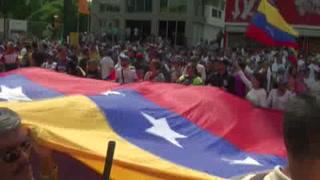 Miles 'toman' Venezuela en protestas contra Maduro