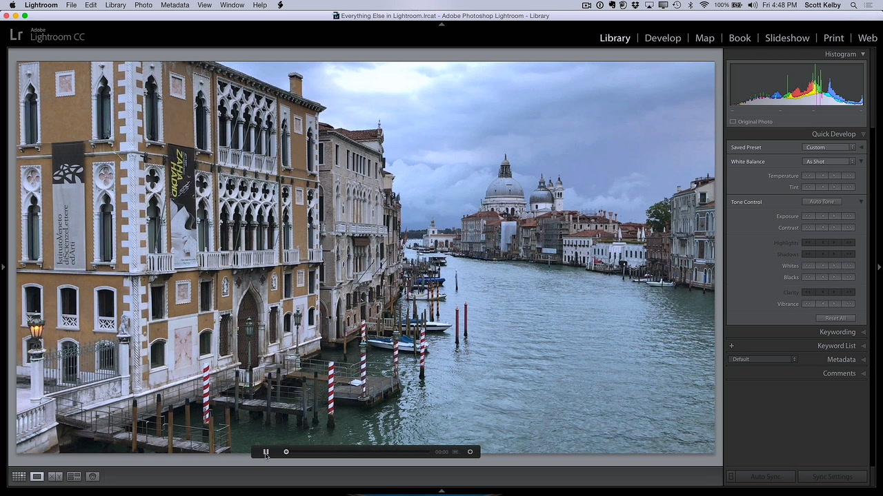 Editing Video Clips in Lightroom
