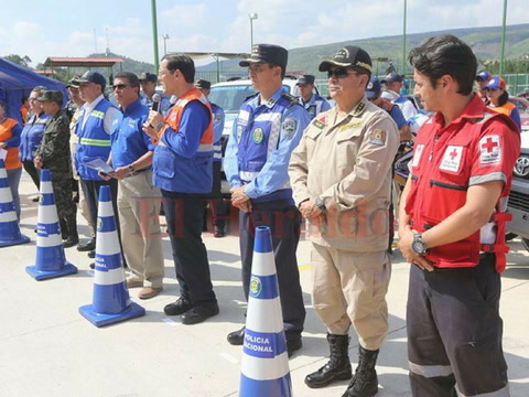 Con cero muertes cierra operativo de Conapremm en feriado morazánico