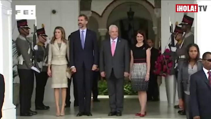 Los Príncipes de Asturias defienden en Panamá la valía de las empresas españolas