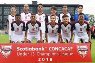FBO de Olimpia son goleados  en torneo de Campeones de Concacaf
