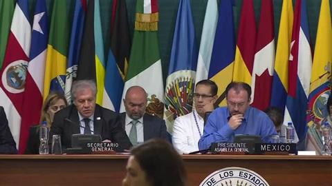 Oposición venezolana: la OEA cuenta votos, nosotros muertos