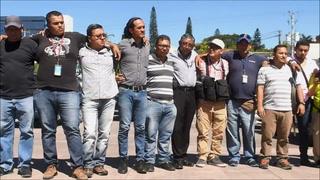 Exigen justicia tras asesinato de camarógrafo salvadoreño