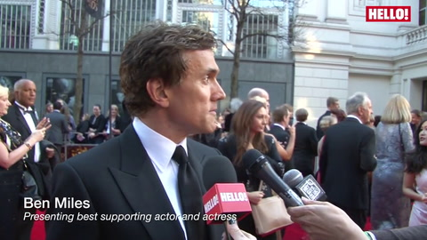 Tom Hiddleston, Beverley Knight, Alexandra Burke and more chat to HELLO! at the star-studded Olivier Awards 2014