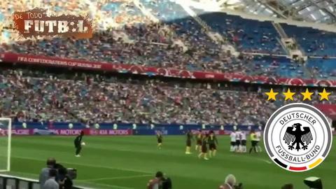 Alemania vence a Camerún y se verá ante México en la semifinal