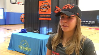 Claire Workman signs with Oklahoma State