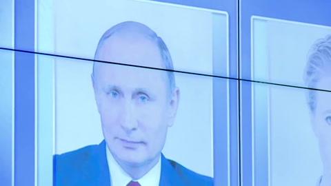 Putin reelecto con más del 70% de votos (sondeo a boca de urna)