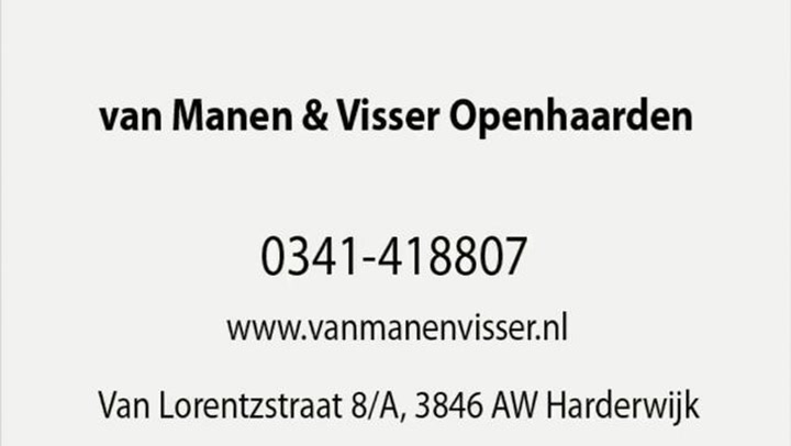 Manen & Visser Openhaarden Van - Bedrijfsvideo