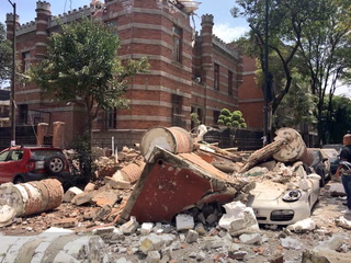 Los minutos de terror tras el sismo en México