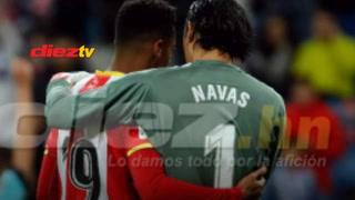 El enorme gesto de Keylor Navas con Choco Lozano tras la paliza del Madrid