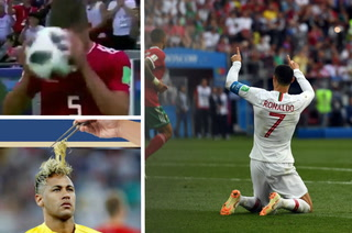 Mundial en redes: El saque de banda iraní y Cristiano Ronaldo, lo más viral en Rusia 2018