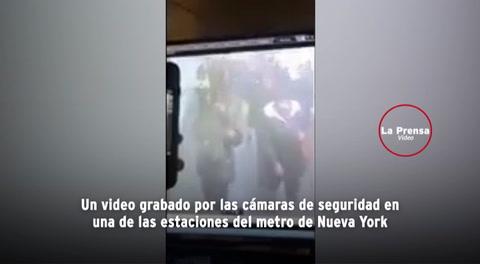 Video muestra la explosión en el metro de Nueva York en fallido ataque terrorista