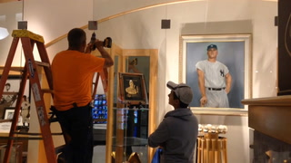 The Roger Maris Museum at West Acres Shopping Center housed the S Rae Hickok Award, which was bestowd upon Roger Maris in 1961. The belt, traditionally given to the pro athlete of the year, was stolen early this morning during a targeted heist. Photographer: Colburn Hvidston III, The Forum