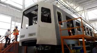 Fabrican en Hidalgo trenes para la Línea 1