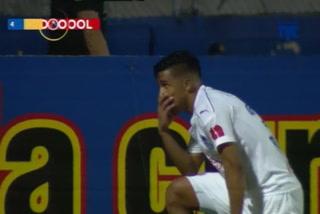 Michael Chirinos se despacha espectacular doblete contra Juticalpa en el Nacional