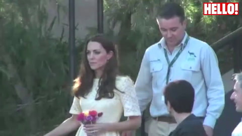 The Duke and Duchess of Cambridge visit Taronga Zoo