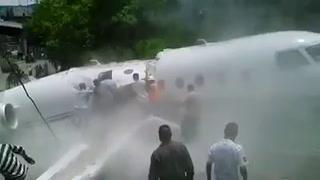 Rescata de norteamericanos en accidente de Toncontín