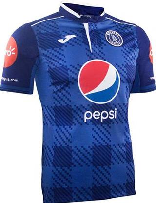 Camisa oficial del Club Deportivo Motagua 2017-2018