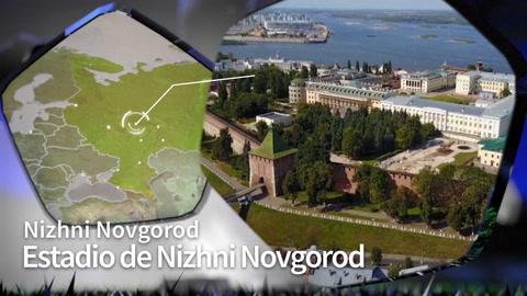 Estadio Nizhni Novgorod Rusia 2018