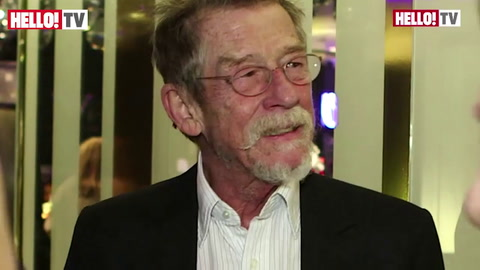 John Hurt CBE on how it feels to be celebrated