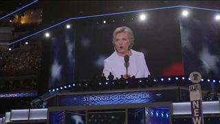 Hillary Clinton acepta nominación demócrata