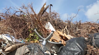 Miami Turns Virginia Key Into Huge, Stinking Dump for Hurricane Irma Debris