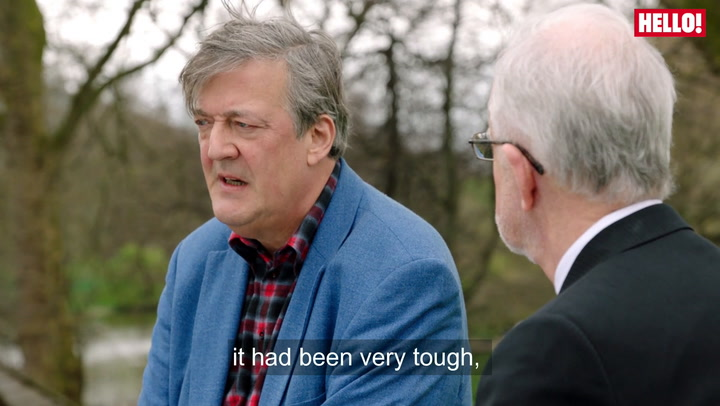 Stephen Fry opens up about mental illness in new Heads Together campaign film