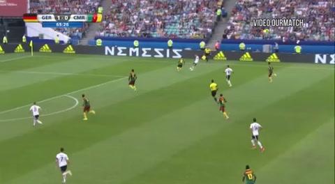 Alemania 3-1 Camerún (Copa Confederaciones 2017)
