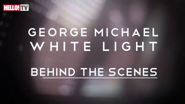 Behind the scenes of George Michael\'s video \'White Light\' Part 1