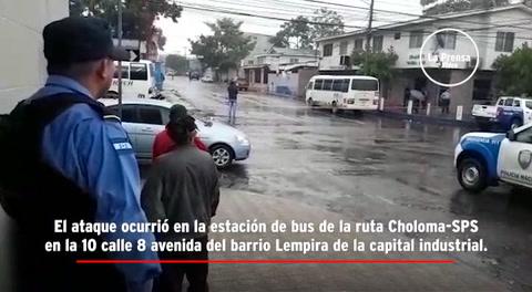 Matan a balazos al conductor de un rapidito en San Pedro Sula