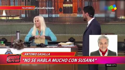 Gasalla le contó a Polino porqué se va del programa de Susana