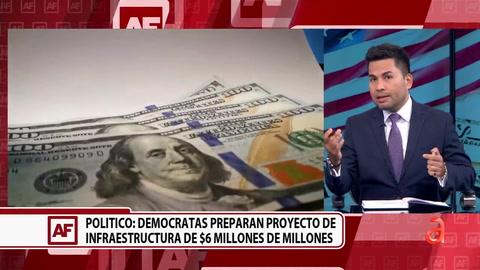 Demócratas preparan proyecto de Infraestructura de $6 billones