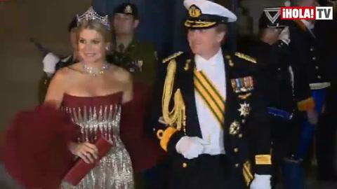 Cena de gala en el  Palacio Gran Ducal