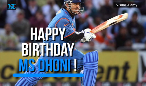 Dhoni turns 38: Wishes flood social media