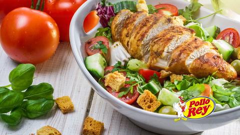Pollo Rey promueve consumo de la carne de pollo y buenos hábitos alimenticios