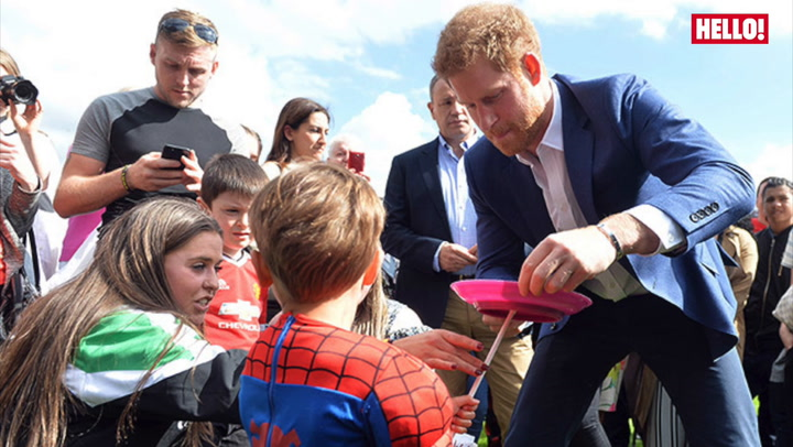 Watch Prince Harry\'s Best Moments