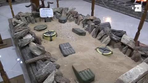 Las minas de la II Guerra Mundial amenazan el desierto egipcio