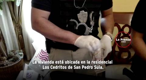 Decomisan 600,00 lempiras en casa allanada en operación Avalancha III