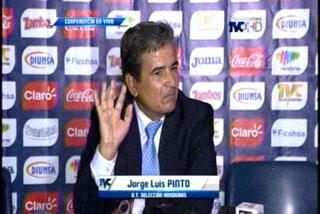 La pregunta de un periodista que hizo enojar a Jorge Luis Pinto