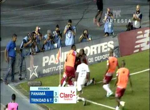 Panamá golea a Trinidad y Tobago en hexagonal de Concacaf